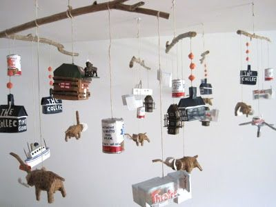 mobiles for the collective good (new shop opening tomorrow in whitehorse, yukon!)