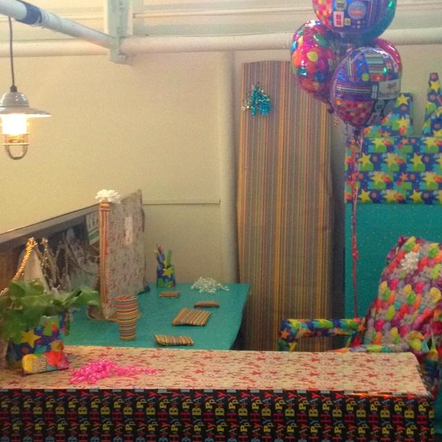 Birthday prank ideas home