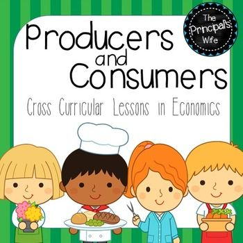 These Producer and Consumer activities were designed as a cross-curricular social studies unit (Reading, Social Studies, and Math) Activities on producers, consumers, goods, and services are included in these print and go activities.