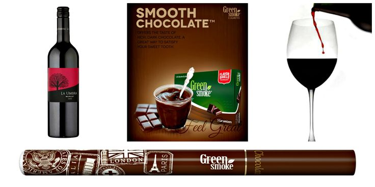 Smooth Chocolate și Merlot  http://www.greensmoke.ro/