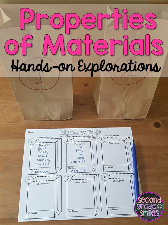 Looking for hands-on activities to practice identifying and categorizing materials and their properties? This science resource includes everything you need to teach this topic and assess your students' understanding, including easy-prep, hands-on explorations and experiments! My second graders had so much fun with this unit!
