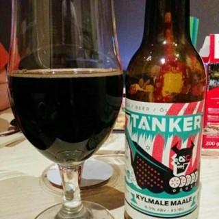 TANKER Kylmale Maale (to the cold country) - Mint and chocolate stout! #BeerOClock #tanker #Stout
