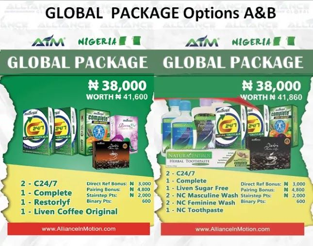 Aim Global Compensation Marketing Plan Alliance In Motion Global