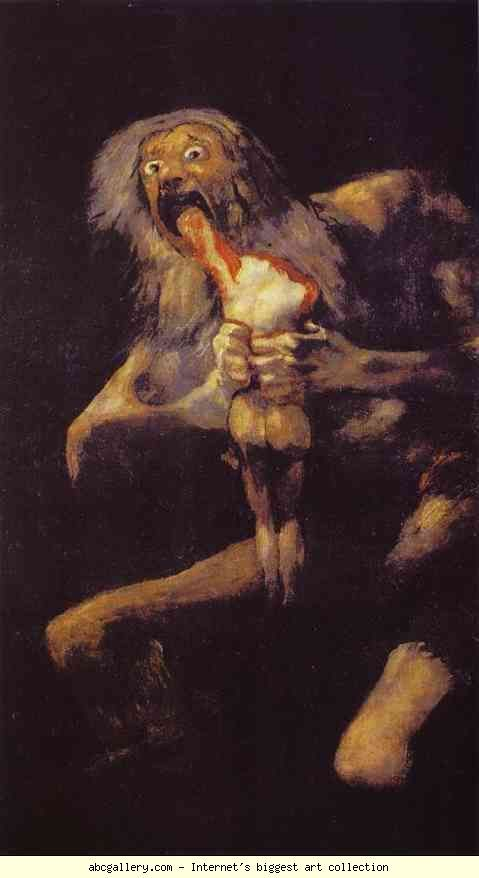 Francisco de Goya, Saturn Devouring his Son