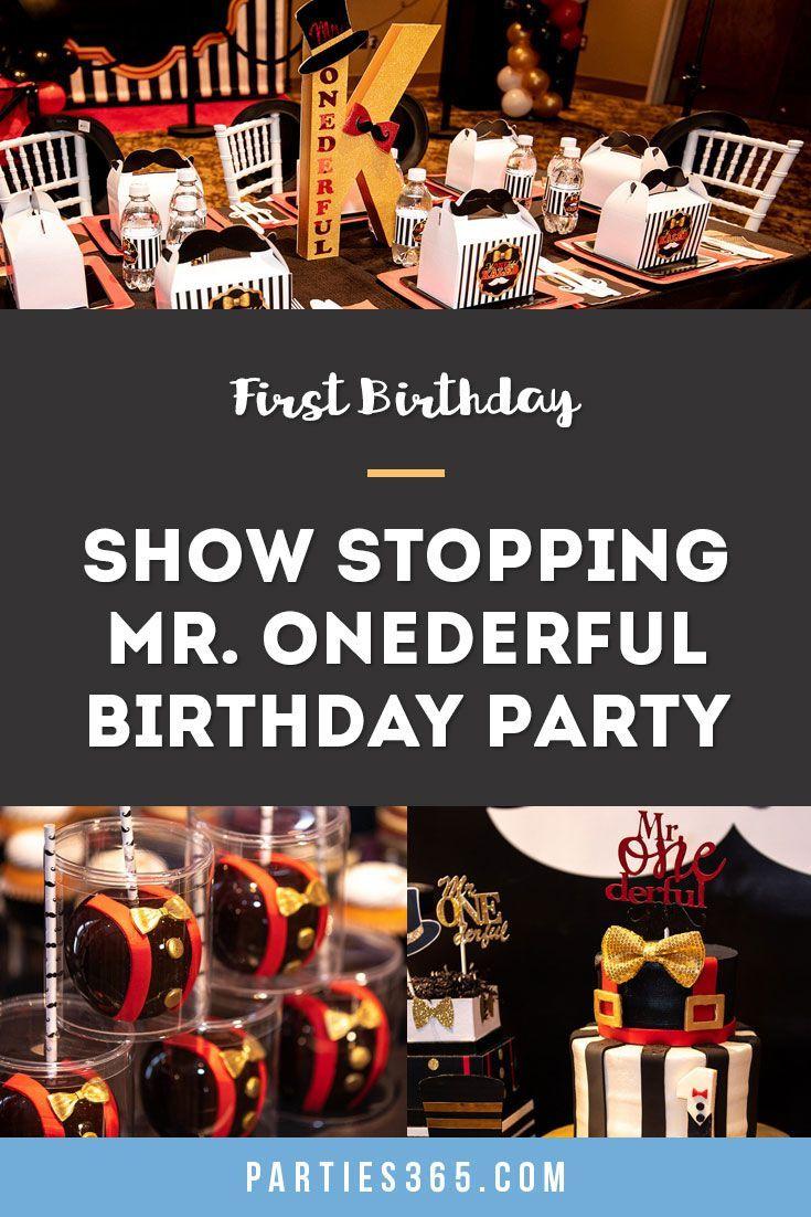 Mr Onederful First Birthday Party Ideas Parties365 In 2020 Mr Onederful Birthday Party Ideas First Birthday Themes 1st Boy Birthday
