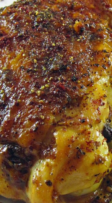 Tumeric Chicken with Sumac and Lime