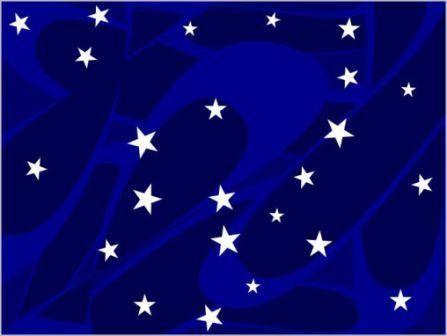 Το παραπάνω παιχνίδι δείχνει τον ουρανό με πολλά αστέρια και το παιδί καλείται να εστιάσει και να κάνει κλικ σε κάθε αστέρι , βλέποντας το να εξαφανίζεται . Όμως μετα από λίγο θα δει ότι τα αστέρια επανέρχονται και δεν τελειώνουν ποτέ. Παράλληλα ακούγεται η μουσική του Beethoven ,Moonlight Sonata.