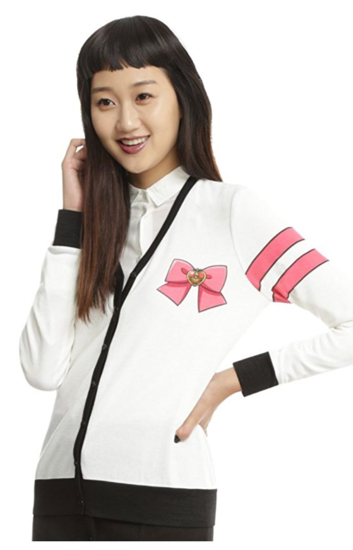 NEW official Sailor Moon cardigan! Buy here http://amzn.to/2gjax92