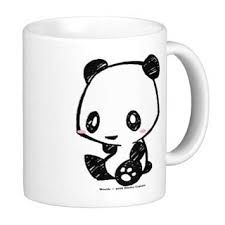 Panda mug decorating