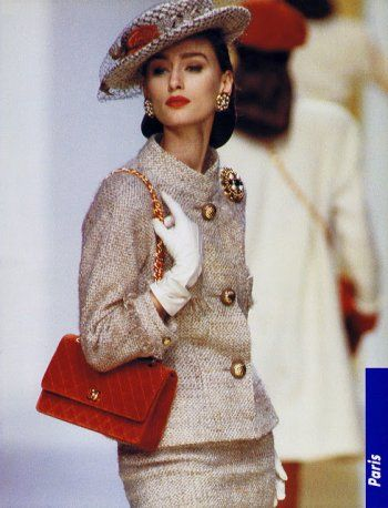 Chanel by Karl Lagerfeld  — 1980sAly Dunne for Chanel Fashion Show, Fall/Winter…
