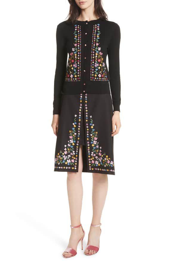 e0f91b3f44bee Hampton Print A-Line Skirt TED BAKER LONDON   fashion in 2019 ...