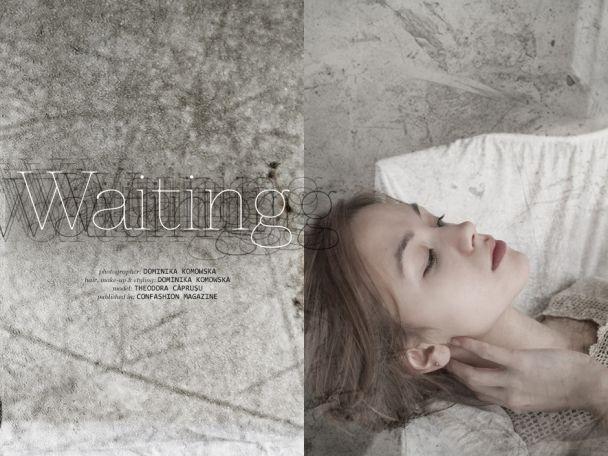 """Dominika Komowska: """"Waiting"""" http://www.confashionmag.pl/webitorial/artystyczny-czwartek-waiting.html"""