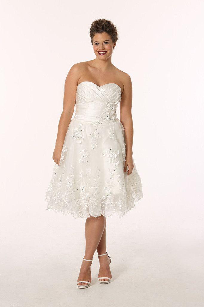 72 best Top 10+ short wedding dresses images on Pinterest