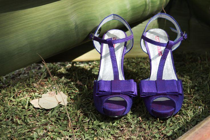 Zapatos Boda Arreglo Novia