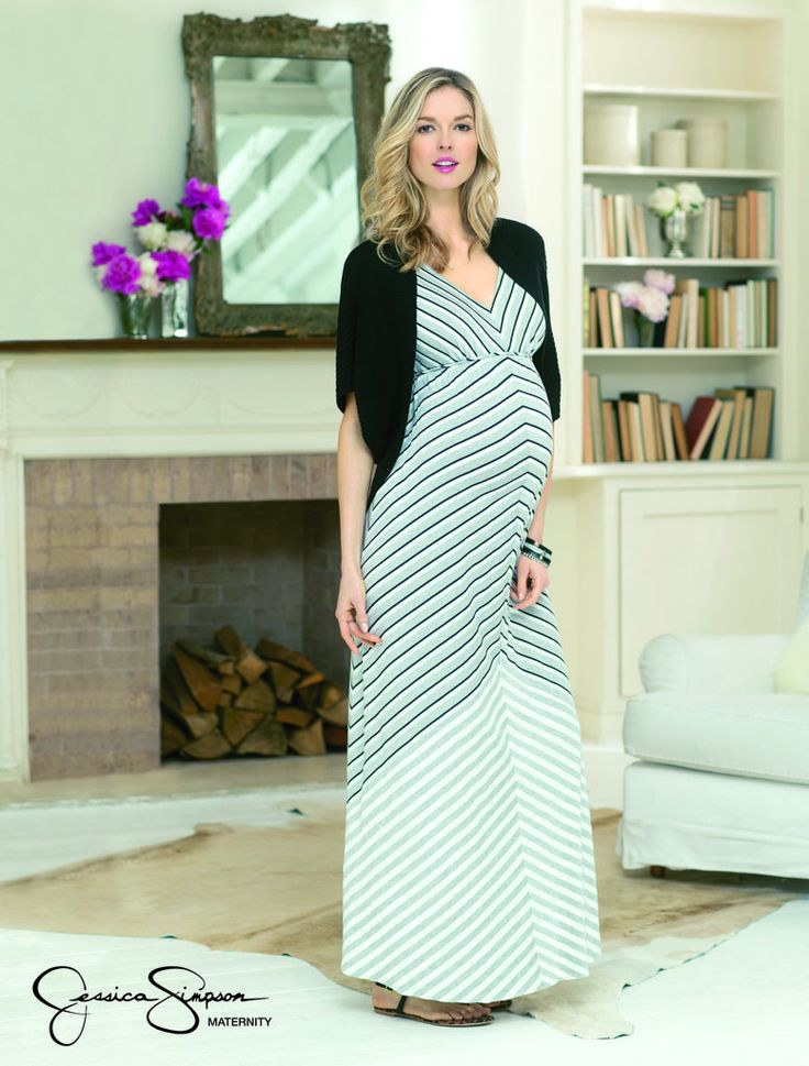 Jessica Simpson Maternity Clothes Spring 2013 - I have this dress and I'd recommend it to every pregnant woman! So comfy!!