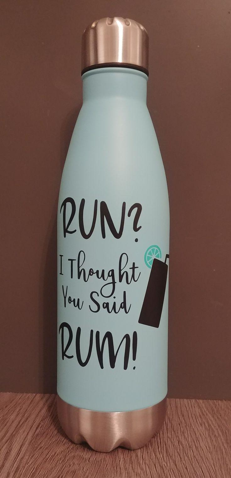 Run? I Thought You Said Rum! Svg Cut File #cricut #svg #fitnesssvg #fitness #run #rum #funnyfitness #fitnesspun
