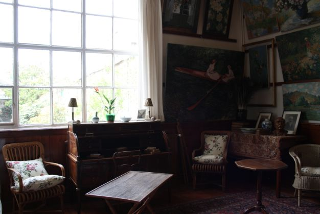 Inside Claude Monet's home in France