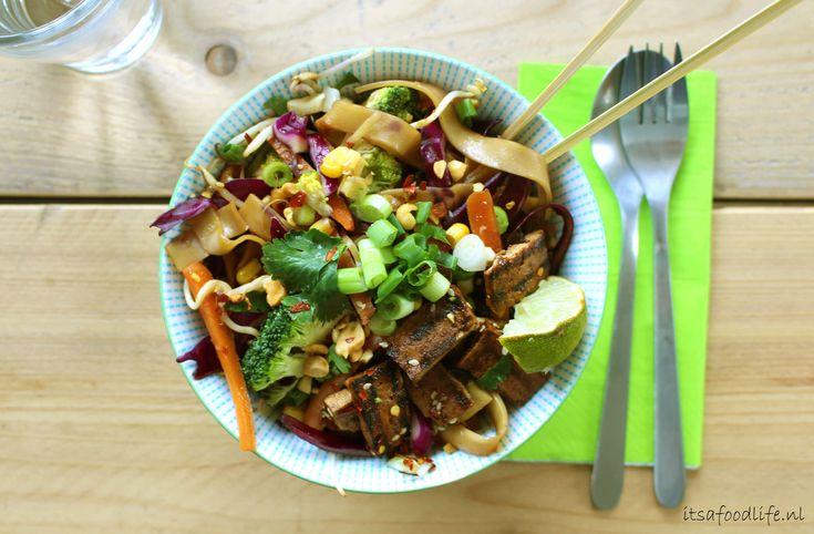 Meatless Mondays: Veganistische Pad Thai