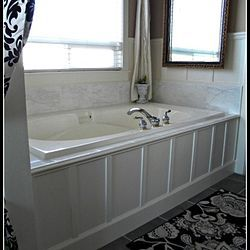 Hometalk | We Updated Our 90's Bathtub in One Weekend With Less Than $200.