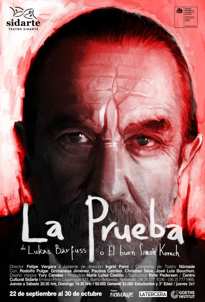 La Prueba, o el buen Simon Korach, de Luckas Barfuss.