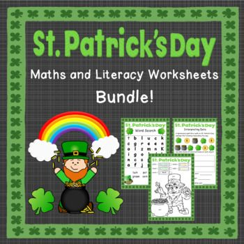 This bundle contains my Kindergarten and Grade 1 (years 0-2) St. Patrick's Day resources.Altogether there are 17 different activities (most come in both colour and black & white)In this bundle:St. Patrick's Day Kindergarten Activities- Word search- Dot-to-dot- Colour by sight-word- Pot of gold writing paper- Write numbers to 10- Write numbers to 20- Counting to 10- Addition to 5- Addition to 10St.