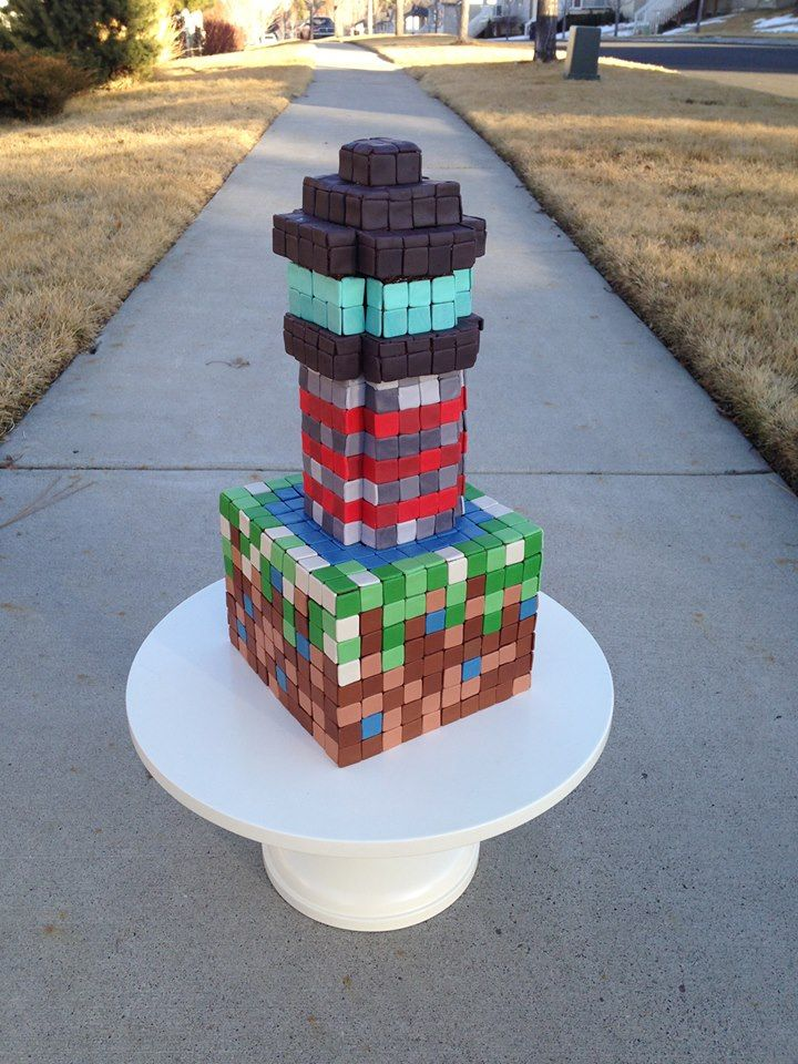 Minecraft Cake Decorations Uk : 41 best images about Minecraft Cake Ideas on Pinterest ...