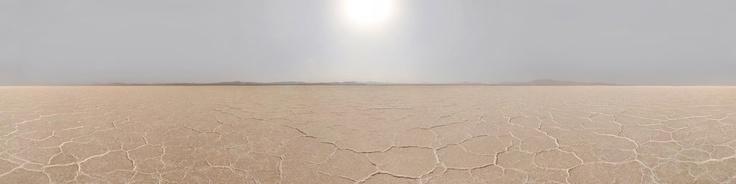 Hoz-e-Soltan Lake Desert, Iran