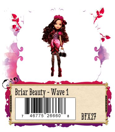 Briar Beauty daughter of Sleeping Beauty, exclusive to Justice Store 2013