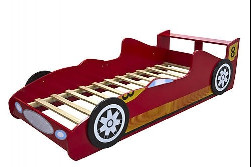 Red Race Racing Car Kids Bed $185