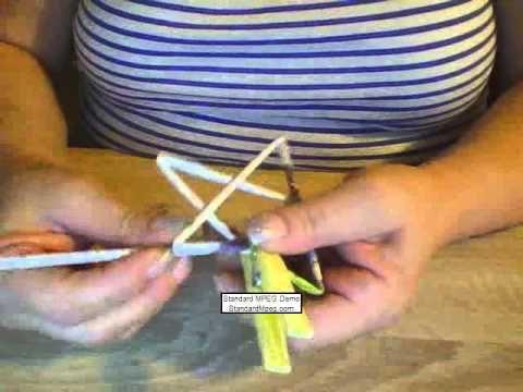 ▶ Stern aus Papierröllchen basteln - YouTube