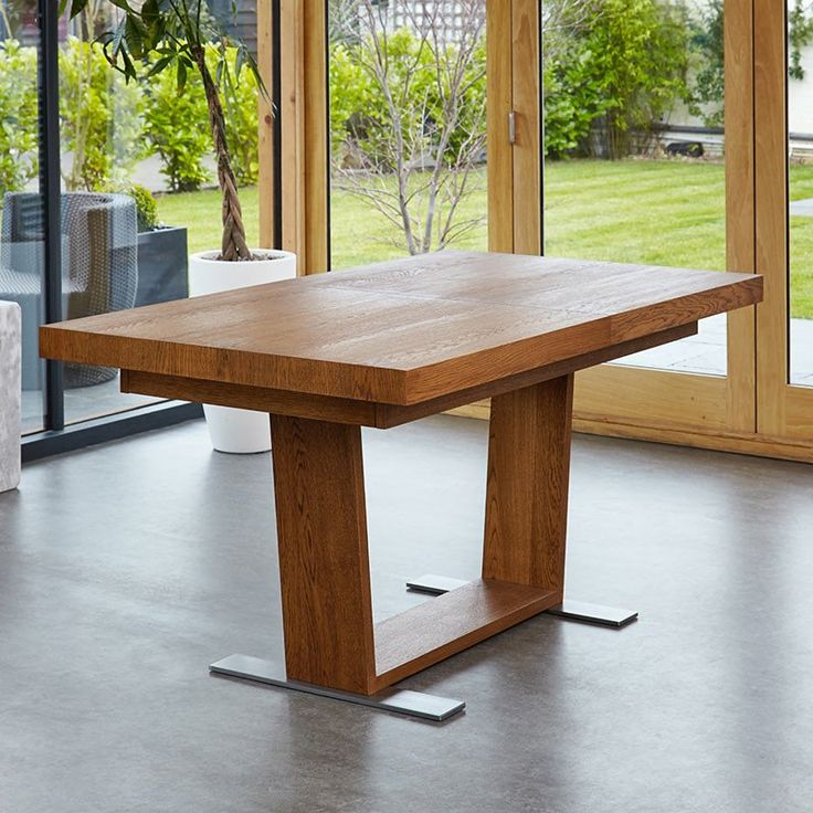 Perfect Olten Extending Dining Table in Oak Finish