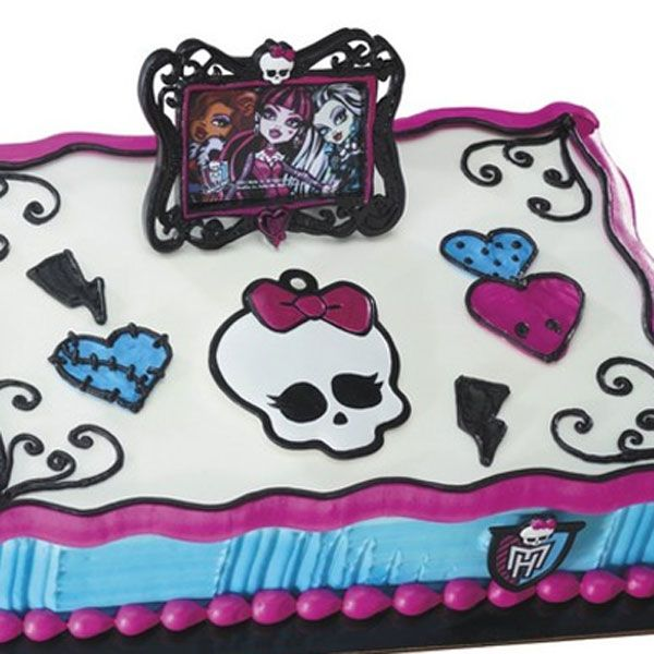 Monster High Cake Toppers Canada
