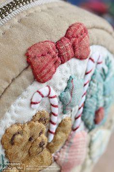 Косметичка — корзинка с подарками / Pouch — Basket with gifts - Вечерние посиделки