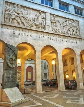 Cortile nuovo Palazzo del Bo Università di Padova