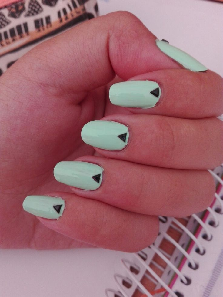 """Perfect nails for summer, nail lacquer from china glaze """"highlight of my summer"""""""