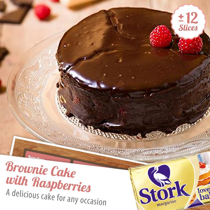 Chocolatey goodness you can't resist! Have you tried baking a brownie cake before?
