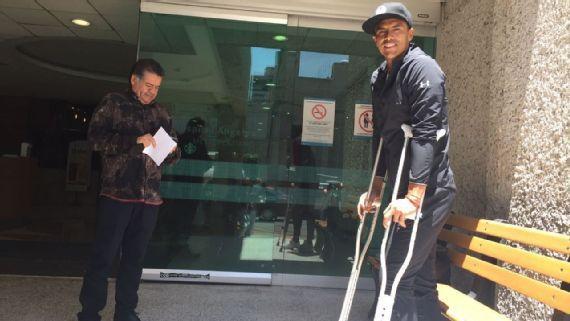 "El futbolista ""Alfredo Talavera"" se convirtió en tendencia porque estará fuera de canchas por seis meses. http://qoo.ly/grkp7"