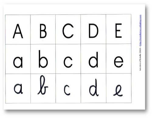 Bande murale alphabet