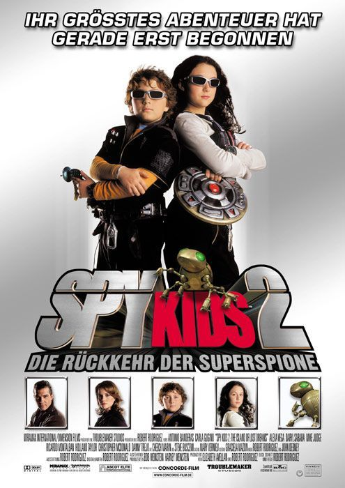 Spy Kids 2: The Island of Lost Dreams , starring .  #