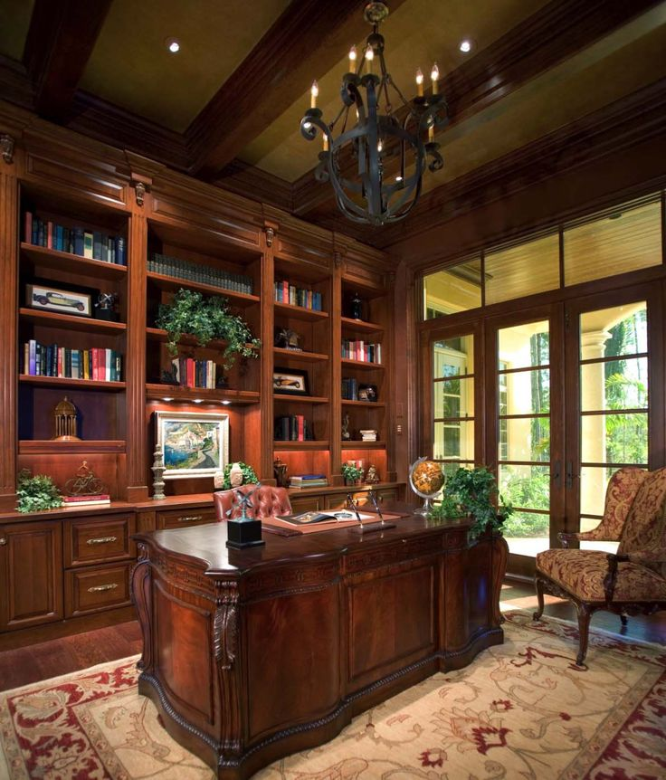 Marvelous Home Office Library Ideas 11 1 Kindesign