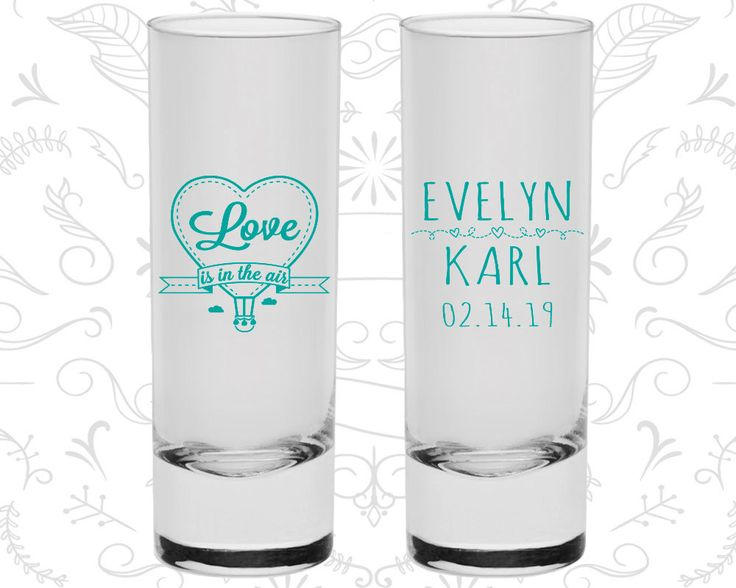 Love is in the Air Wedding Shooters, Wedding Favor Tall Shot Glasses, Hot Air Balloon Shooters, Love Wedding, Wedding Shooters (229)