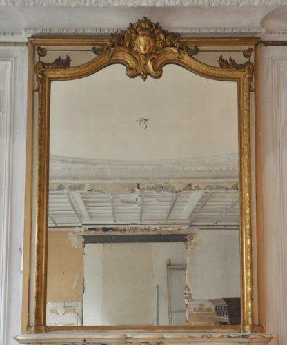 1000 id es sur le th me miroir de chemin e sur pinterest for Miroir cheminee