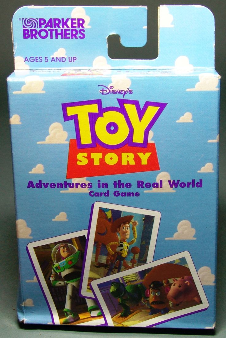 Toy Story Parker Card Game