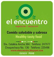 Restaurante El Encuentro, fully vegetarian, tasty and good for you
