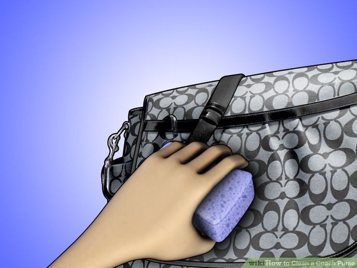 6 Ways to Clean a Coach Purse - wikiHow