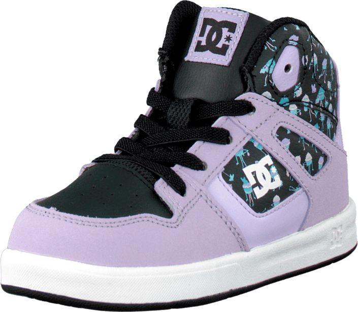 DC Shoes - Toddl. Rebound Se Ul Shoe Lilac/Blk