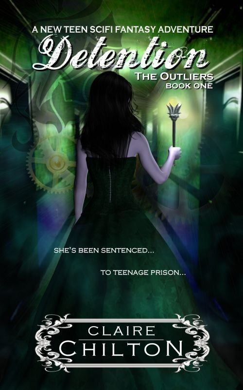 Teen fantasy books | young adult science fictions | teen sci-fi | comedy science fiction | Detention is the first book in The Outliers series...