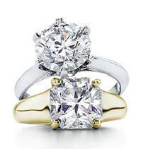 Wedding Bands Wholesale has an amazing Solitaire Engagement Collection. The Solitaire Engagement ring is the most distinctive of all rings. Here at Wedding Bands Wholesale we pride ourselves on affordable prices, great craftsmanship and attention to detail. Either a single stone in a raised setting or set into a band itself, our rings are of the highest quality.
