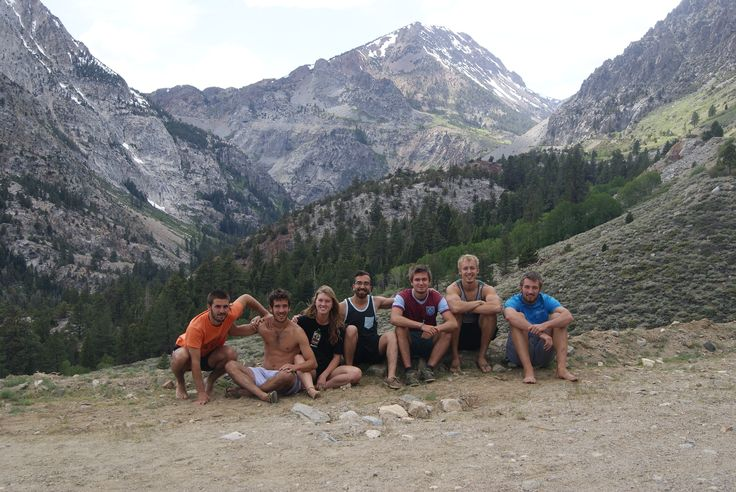 Tioga road with the gang, Northern Yosemite, CA