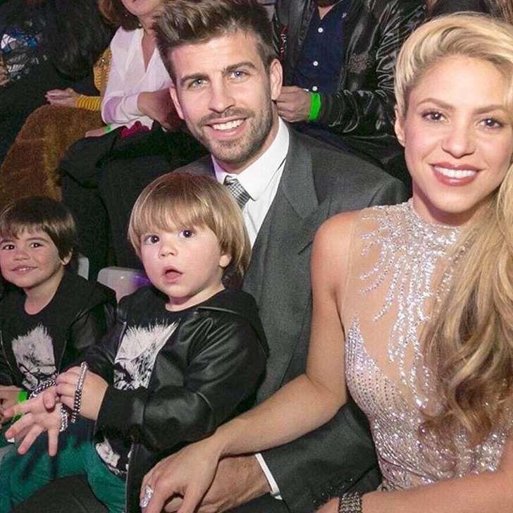 Shakira se divierte bailando con Sasha y patinando con Milan tras los rumores de tercer embarazo